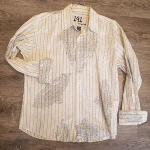 191 Unlimited Men's Button Dress Shirt Size XXL
